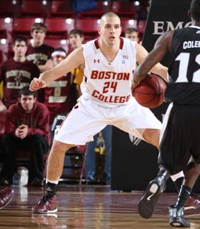 Chris Kowalski: Now plays for BC's basketball Eagles, after a stellar career on baseball team.