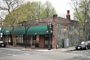 Common Ground: Common Ground's location at the corner of  Dorchester Avenue and Richmond Street. Ed Forry photo