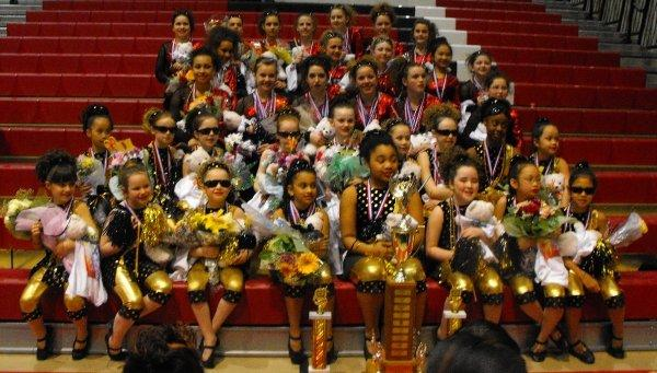 St. Ann's Color Guard 2009 Champs