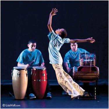 Boston Ballet's Boys in Motion program from the Frederick Middle School will perform an original work by Yo-el Cassell at the Strand Theatre next Friday. Photo by Liza Voll Photography