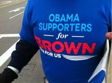 Obama Supporters for Brown