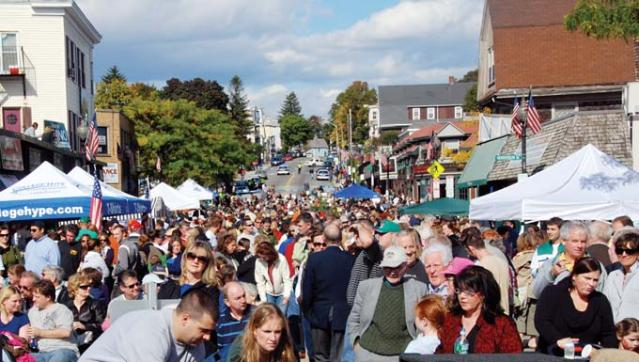 Thousands descended on Adams Village on Sunday to join in the first Irish Heritage Festival. Organizers deemed the inaugural fete a success.    Photo by Harry Brett