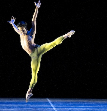 Boston Ballet at Strand: Soloist John Lam represents the dynamic talent that will take the Strand stage on Friday. Photo by Gene Schiavone.