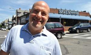Ken Osherow: Key to success of Savin Bar + Kithcen, other eateries on Savin Hill Ave. Photo by Bill Forry