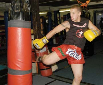 Kickboxing in Uphams