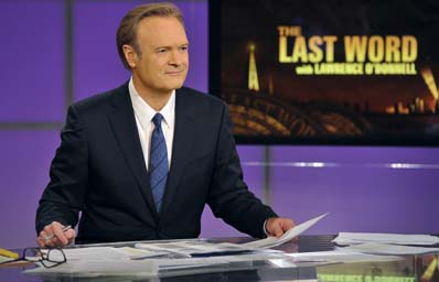 "Lawrence O'Donnell, OFD: His nightly program ""The Last Word"" has become must-watch television for progressives hungry for a left-wing voice of reason. Photo courtesy MSNBC"