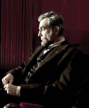 "Daniel Day Lewis portrays President Abraham Lincoln in the critically acclaimed film ""Lincoln."" The future president visited Dorchester in 1848."