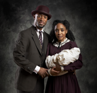 Ragtime: Actors Damian Norfleet and Tia DeShazor star in the musical, now running through Oct. 7 at the Strand Theatre.
