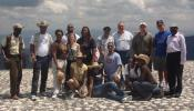 Reps visit Haiti: Rep. Marie St. Fleur, third from left, led a delegation on a visit to Haiti last. Among those who went was her Dorchester colleague, Rep. Marty Walsh, second from right. The group is pictured atop the Citadel fortress in northern Haiti.