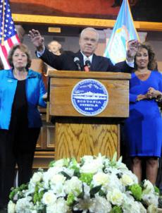 Mayor Tom Menino announced he would not seek another term on March 28, 2013.
