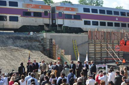 Talbot Ave. groundbreaking on June 7, 2011