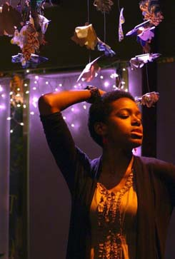 Tasia A. Jones: One of the performers in this weekend's first- ever Dorchester Fringe Festival. She will appear on Saturday at the Erick Jean Center for the Arts in Four Corners. Photo by Luke Barosky