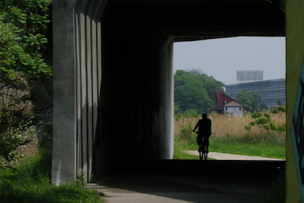 Neponset Greenway: Popular amenity will become more popular with planned expansion. Photo by Chris Lovett