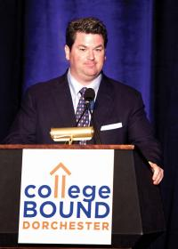 Sean Curran: Longtime volunteer will take the helm as College Bound Dorchester's principal board chairman this month. 	Photo courtesy College Bound Dorchester