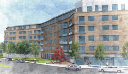 University Place: Corcoran Jennison Co. plans to build the apartment complex this year along Mt. Vernon Street.