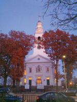 "First Parish Church, site of last Saturday's ""20 Bells for the Mayor"" gala."