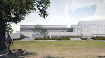 An architectural look at new BTU building. Rendering by Perkins + Will