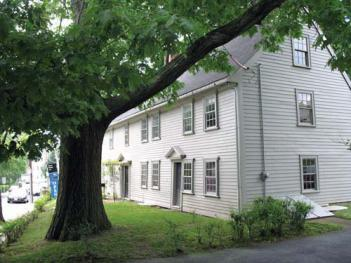 The Pierce House on Oakton Avenue, built in 1683, has been open to the public since 1968. Photo courtesy Historic New England