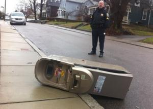 ATM dumped curbside on Richmond Street on Dec. 23