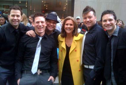 Ball in the House: The Dot-based quintet made a big splash on the Today Show on Monday, May 17.