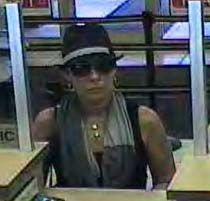 Suspected bank robber