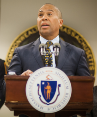 Gov. Deval Patrick: A local legacy that will endure.