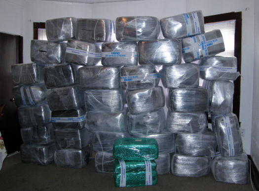 A lot of pot: Photo via Suffolk County DA's office.