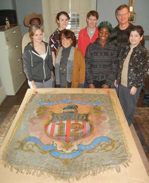 Forbes House Museum Displays Dorchester Lincoln Banner: A campaign banner for President Lincoln's 1860 campaign will be part of Sunday's Lincoln Day offerings.