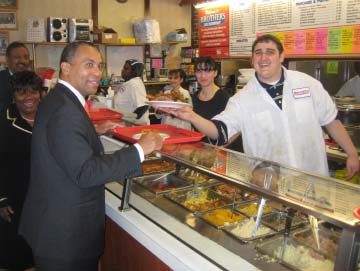 Gov. Deval Patrick visits Brother's
