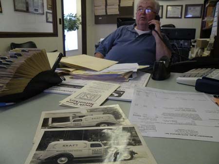 Frank Fitzpatrick of Fitzpatrick Brothers Corp. on Centre Street. : The family-run auto body shop is one of several Dorchester businesses that is at least 100 years old. They will be honored at next week's Dorchester Board of Trade dinner.