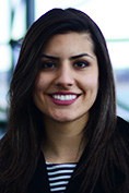 """Pantea Fatemi Ardestani: """"It's really important for students to just be aware of the deficit. We handle things better when we're informed."""""""