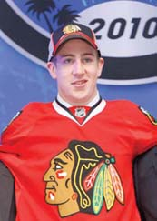Kevin Hayes: Drafted by the Blackhawks (AP photo)