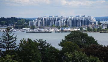 Marine Bay from Savin Hill