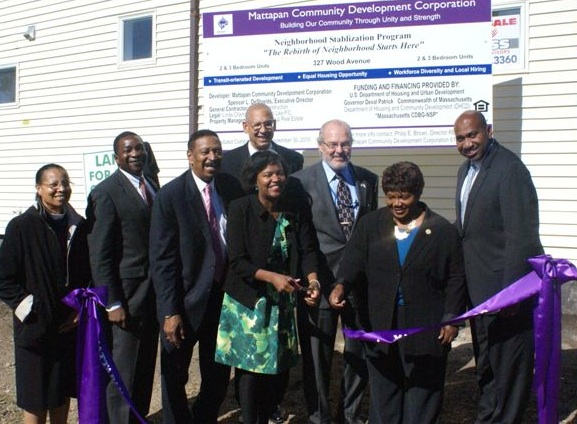 Mattapan CDC ribbon cutting