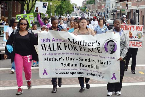 Mother's Walk for Peace 2012
