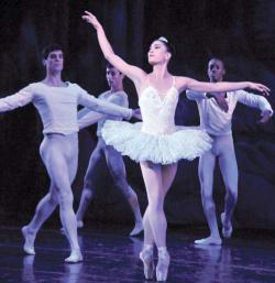 The José Mateo Ballet Theatre production of The Nutcracker opens at the Strand Theatre for a five-show run on Dec. 22. Photo by Karen Wong