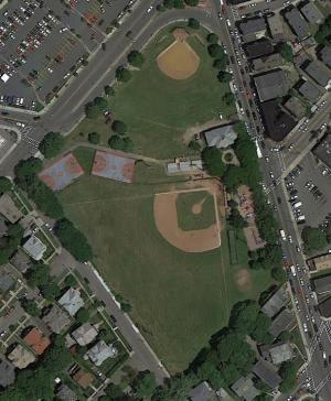 Town Field: A view from above