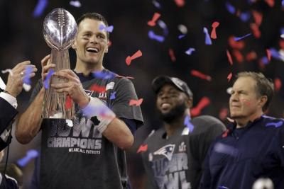 Super Bowl LI— Patriots are champs again: Associated Press photot