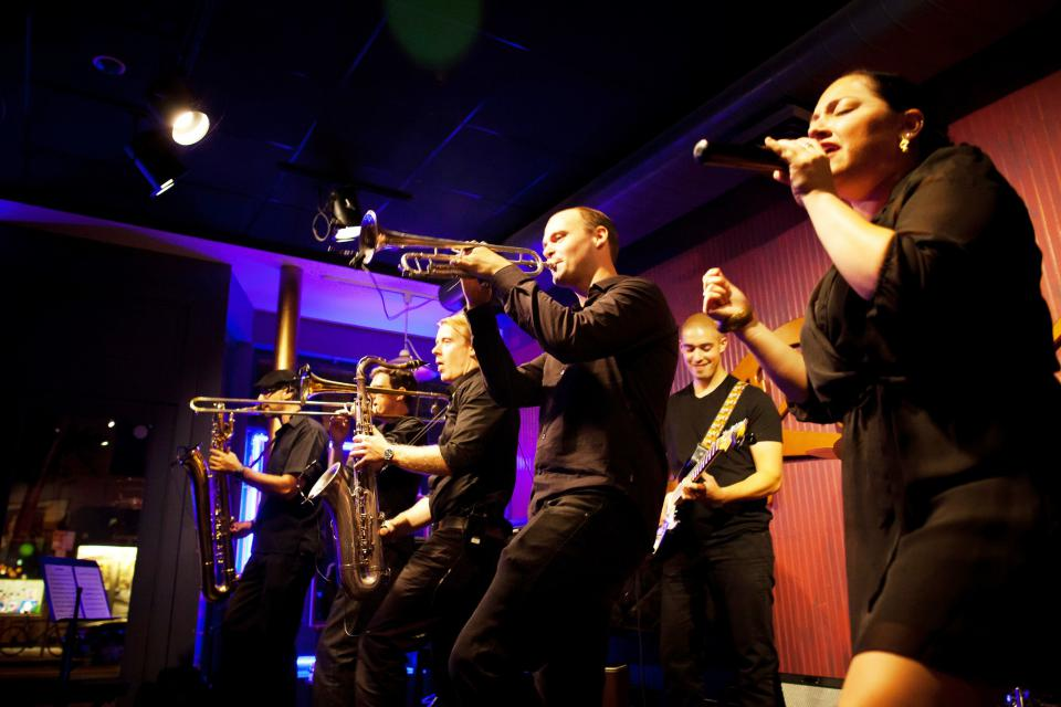 Soul City Band Comes to Dot Park