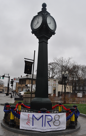 Peabody Square Clock— April 15, 2014