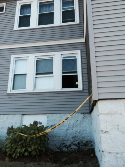 Home at corner of Granville St. and Gallivan Boulevard struck by bullet