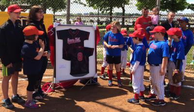 Martin Richard's #8 retired in Savin Hill