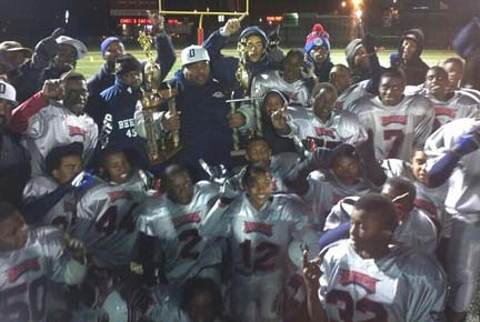 Pop Warner regional champs heading to Super Bowl: Photo courtesy Toni Williams