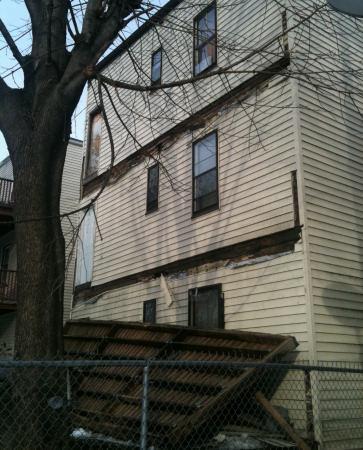 Porch collapse