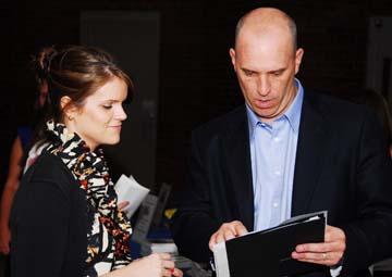 Project D.E.E.P.: Project D.E.E.P. director Beth Connell with founder Brendan McDonough.