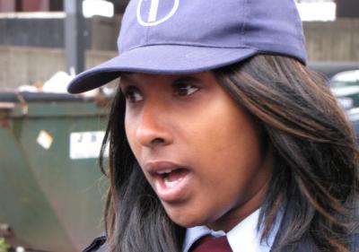 Sharina Byrd describes her ordeal.