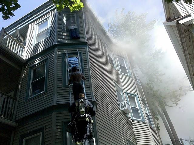 Speedwell Street Fire