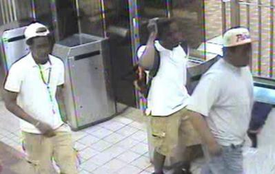 Suspects, captured before stabbing on MBTA camera.