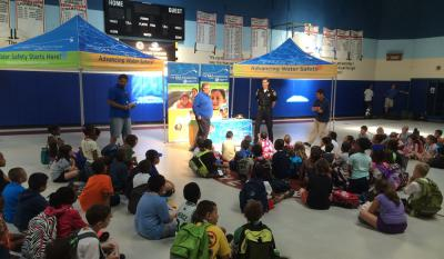 Summer kicks-off at Boys and Girls Clubs of Dorchester: The ZAC Foundation is running a water safety ZAC Camp at the Boys & Girls Clubs of Dorchester this week.