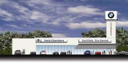 Pre-owned BMW dealership plan for old Ch. 56 lot.: Herb Chambers Co. says project has been stalled by engineering problems.